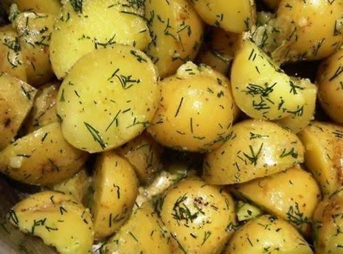 Russian Boiled Potatoes Recipe