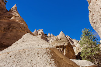 Photo: Tent Rocks National Monument, Cochiti Pueblo, New Mexico (by Keith H.)