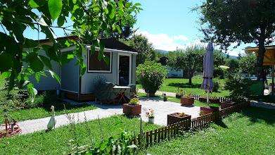 Photo: auch hier freut sich der Garten auf die Wiederkehr ihrer Besitzer