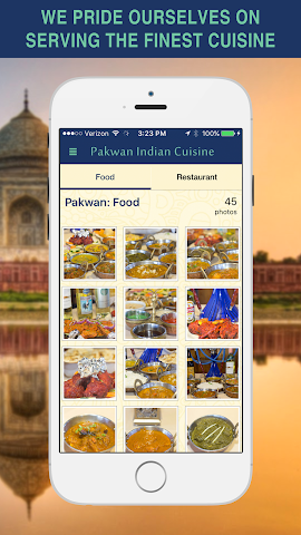 android Pakwan Indian Cuisine Screenshot 3
