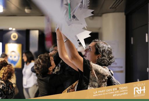 Forum RH 2018 - Empathie Design membre du Comité de pilotage pour le CCO - Design d'espace et expériences émotionnelles