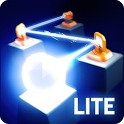 Raytrace Lite: mirror and laser puzzle challenge icon