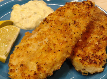 Lemon Pepper Panko Crusted Fish Recipe