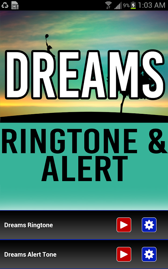 dreams ringtone and alert android apps on google play. Black Bedroom Furniture Sets. Home Design Ideas
