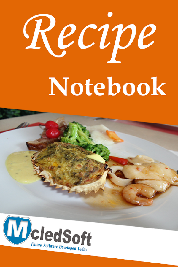Recipe Notebook- screenshot