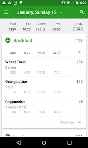 Calorie Counter by FatSecret v4.3.3.0.1