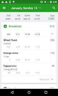 Download Calorie Counter by FatSecret For PC Windows and Mac apk screenshot 1