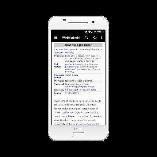 WikiMed mini - Offline Medical Wikipedia 2019-12 screenshots 3