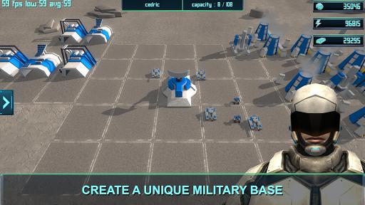 Clash Moon RTS  captures d'écran 2