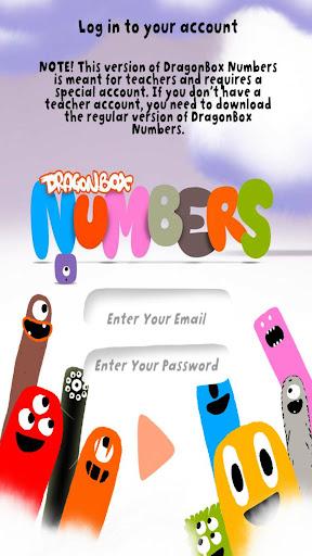 Teacher Access: DB Numbers