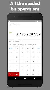 Programmer's calculator - náhled
