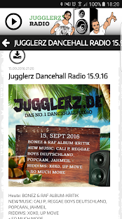 Jugglerz Radio- screenshot thumbnail