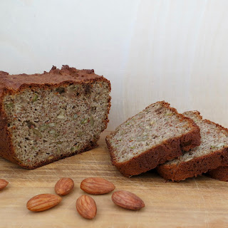 Sprouted Almond Flourless Blender Bread.