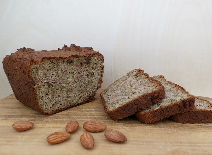 Sprouted Almond Flourless Blender Bread Recipe