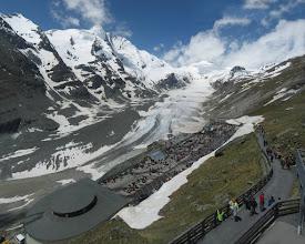 Photo: Groß Glockner mit Gletscher Pasterze (Foto mit Hugin erstellt)