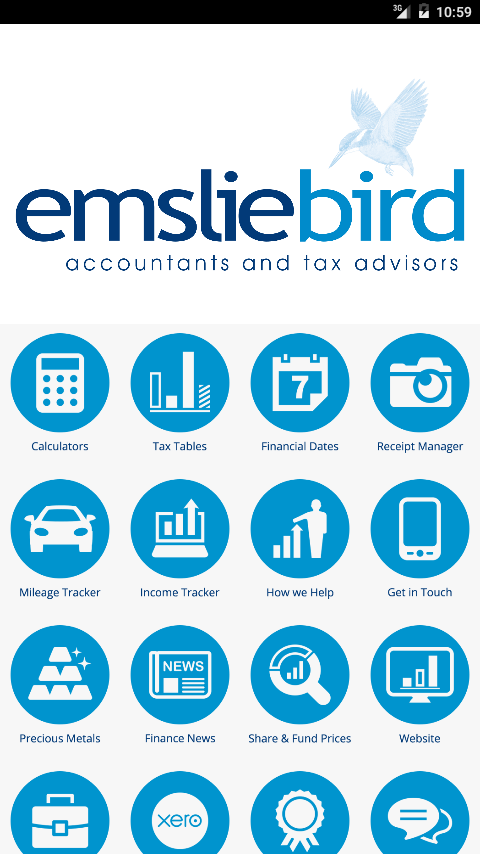 Emsliebird Accountants- screenshot
