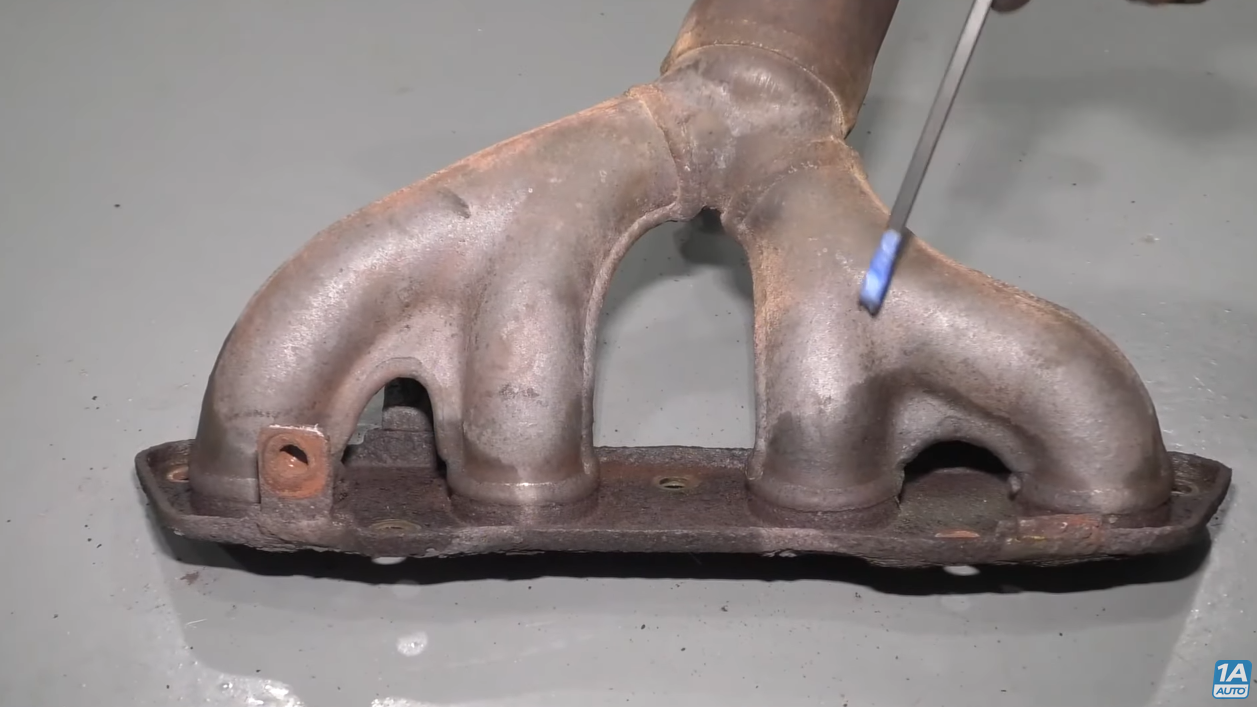 Exhaust Leak on a Ford E250