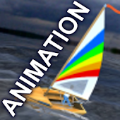 Sailing simulation ANIMATION