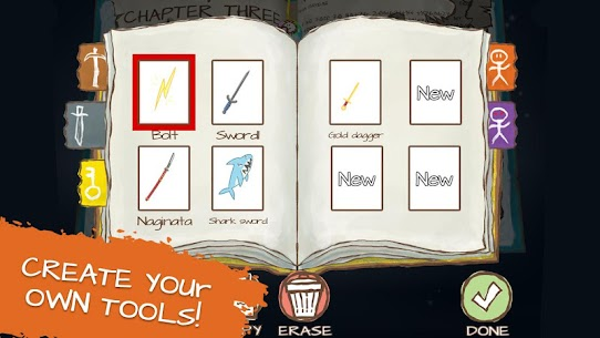 Draw a Stickman: EPIC 2 MOD Apk 1.5.18335 (Unlimited Health) 4