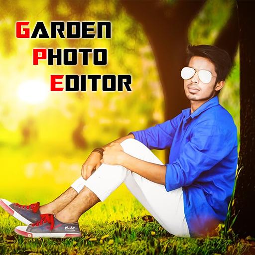 Garden Photo Frame Editor: Nature Photo Frame