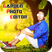 Garden Photo Frame Editor: Nature Photo Frame