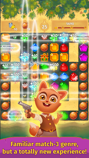 Treasure hunters match-3 gems  {cheat|hack|gameplay|apk mod|resources generator} 2