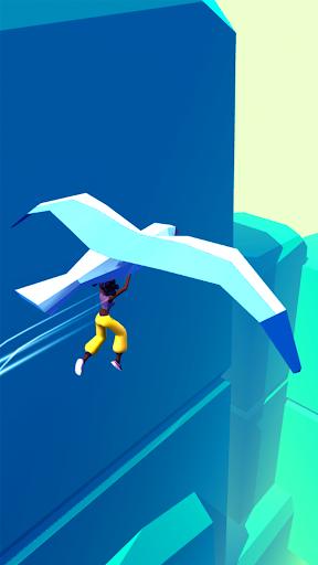 Draw Race 3D - Parkour Game Free  captures d'écran 1