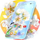 Spring Blossom Live Wallpaper & Animated Keyboard