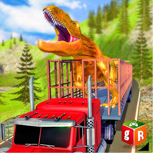 Dinosaur Transporter: Truck & Ship Simulator