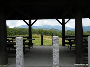 Photo: View from pavilion at Coolidge State Park by Rochelle Skinner