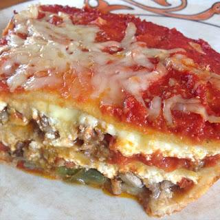 Gluten Free Sausage & Pepper Lasagna