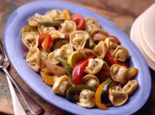Roasted Vegetables And Tortellini