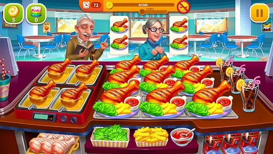 Cooking Hot Mod Apk- Craze Restaurant Chef (Unlimited Money) 3
