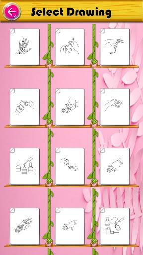 Coloring Fashion Nail Salon 1.0.2 screenshots 1