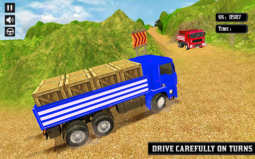 Indian Truck Mountain Drive 3D ss2