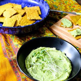 Paleo Vegan Crackers and Cheese