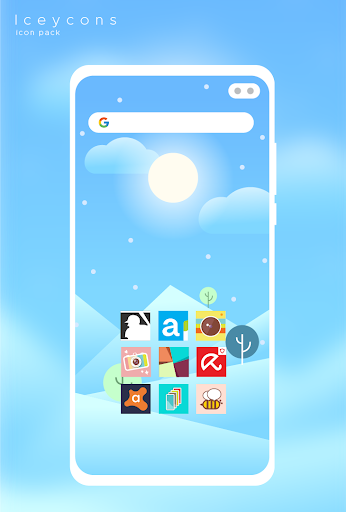 Screenshot for Iceycons - Icon Pack in United States Play Store