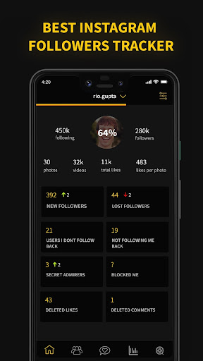 Tracker Pro - Followers Analyzer for Instagram Apk by
