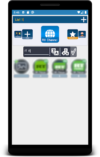 kgtv player - iptv player screenshot 3