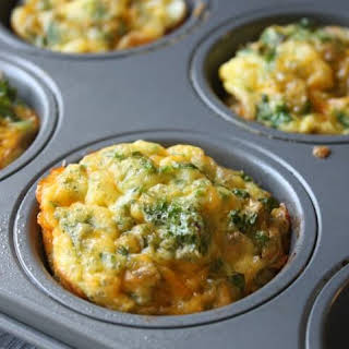 Kale and Cheddar Breakfast Cups.