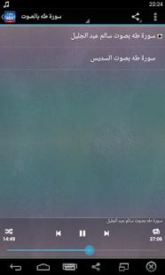 سورة طه صوت بدون انترنت - náhled