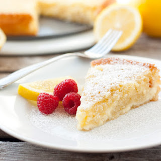 Low Carb Lemon Cheesecake.