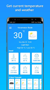 Download Temperature Today For PC Windows and Mac apk screenshot 1