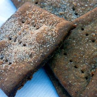 Vegan Homemade Graham Crackers.