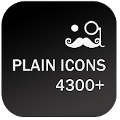 PLAIN ICONS APEX/NOVA/ADW/GO
