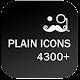 PLAIN ICONS APEX/NOVA/ADW/GO v3.4.0