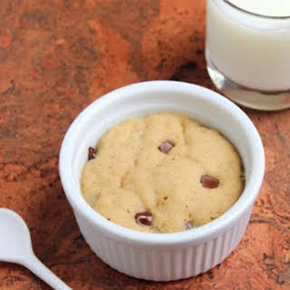 Deep-Dish Chocolate Chip Cookie for One.