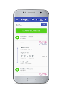 Cheap Flights & Low Fare Airlines Tickets Search - náhled