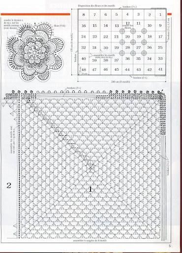 مفارش سرير كروشية بالبترون ,طريقة عمل مفارش كروشية للسرير روعه بالباترون2013 dddCama035grafico.jpg?imgmax=512