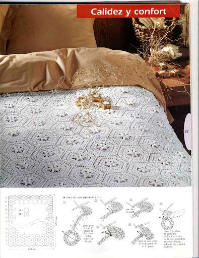 مفارش سرير كروشية بالبترون ,طريقة عمل مفارش كروشية للسرير روعه بالباترون2013 dddCama045.jpg?imgmax=512